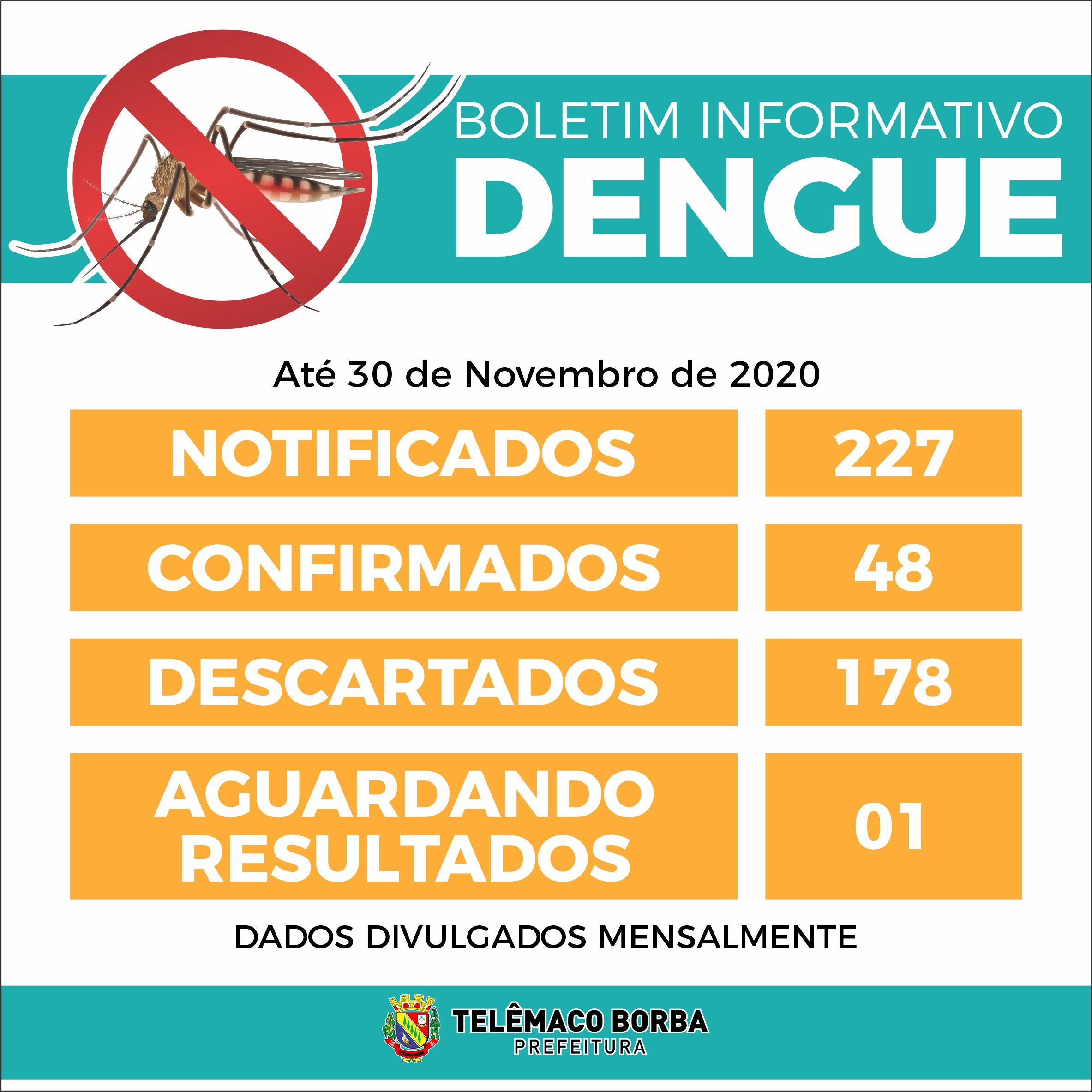 Boletim da Dengue em Telêmaco Borba