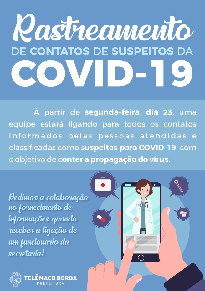 Rastreamento Covid-19